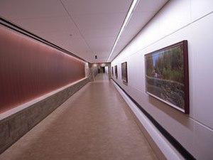 Grand Rapids Medical Corridor North Pedestrian Tunnel - pedestrian tunnel under Michigan Street