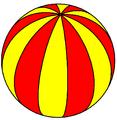 Spherical dodecagonal hosohedron2.png
