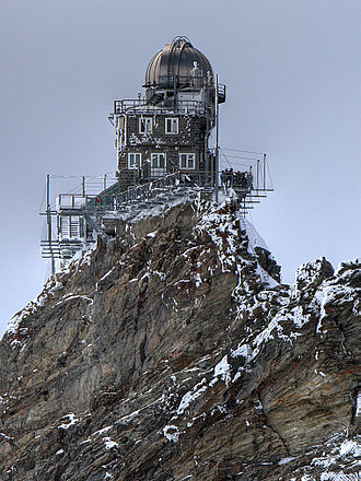 Krrish 3 - Sphinx Observatory at the Alps, portrayed as Kaal's laboratory in the film