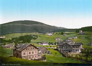 Špindlerův Mlýn - Spindelmühl about 1900