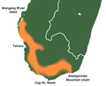 Spiny thickets, Toliara, range.png
