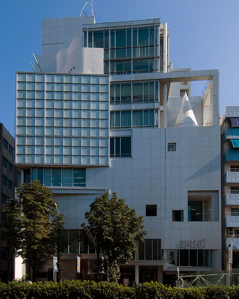 800px spiral building
