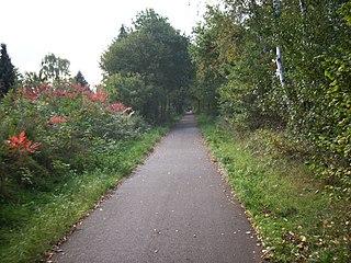 L018 Winterslag - Eindhoven (L18)  - Fietssnelweg Noord-Zuid-As 320px-Spoorlijn_achel