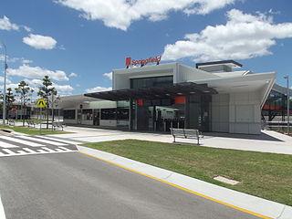 Springfield railway station, Ipswich
