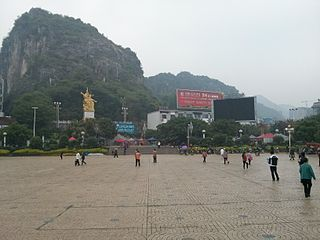 Lingui District District in Guangxi, Peoples Republic of China