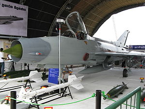 Sri Lanka Air Force - Sri Lanka Air Force Chengdu F-7GS.