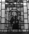 St. Agatha; East Window of St. Peter Hungate, Norwich Wellcome M0009934.jpg