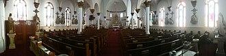Okeene, Oklahoma - Interior of St. Anthony's Church