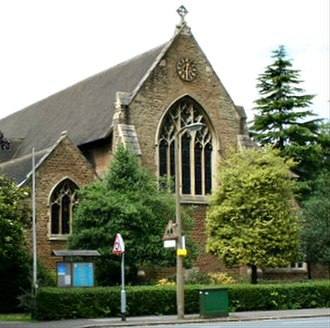 Belmont, Sutton - Image: St. John's Church (C of E), Queens Road, Belmont geograph.org.uk 478223