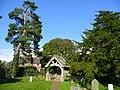 St. Michael's, Brampton Abbotts, lych gate - geograph.org.uk - 991156.jpg