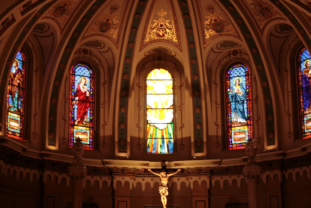 St. john's cathedral boise, idaho interior.JPG