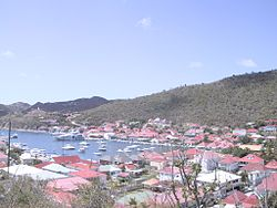 View over Gustavia