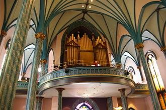 St. Francis Xavier Church (Cincinnati, Ohio) - Image: St Francis Xavier Organ