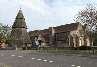 St Augustines Church, Brookland Church in Kent, United Kingdom