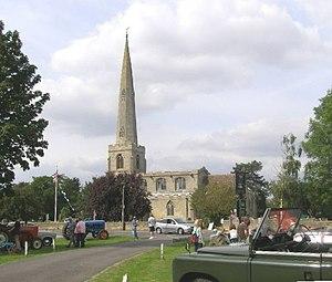 Glinton, Cambridgeshire - St Benedict's Church, Glinton