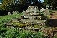 St Cadocs, Llangattock Lingoed, Churchyard cross - geograph - 2114282.jpg