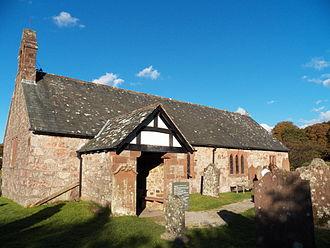 Eskdale, Cumbria - St Catherine's chapel, Eskdale, Cumbria