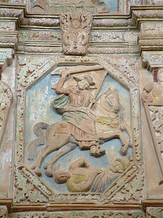 Battle of Clavijo - Image: St James Cristo del Rey