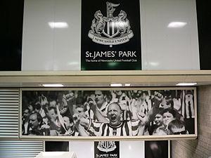 St James Metro station - Image: St James Metro station 03