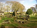 St Mary's churchyard, Long Preston - geograph.org.uk - 618653.jpg