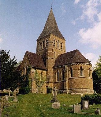 Shackleford - Image: St Mary, Shackleford geograph.org.uk 1522982
