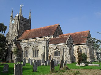 Hailsham - St Mary's Parish Church, Hailsham, East Sussex