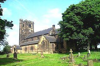 East Ardsley Village in West Yorkshire, England