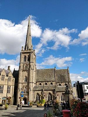 St Nicholas' Church, Durham - Image: St Nicholas Church Durham TSP 2