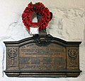 St Olave, Seething Lane, London EC3 - War Memorial WWI - geograph.org.uk - 1077527.jpg