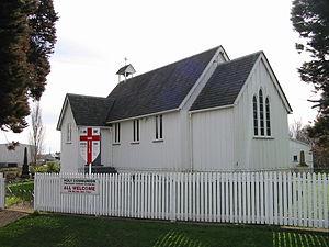 Drury, New Zealand - St John's Church, Drury