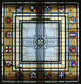 Stained glass ceiling, Auckland Museum 20100118 1.jpg
