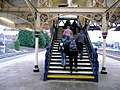 Staircase, Hereford Railway Station - geograph.org.uk - 1177025.jpg