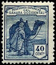 Sahara Español? 180px-Stamp_Spanish_Sahara_1924_40c