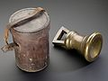 Standard brass bell-shaped weight, England, 1826 Wellcome L0058306.jpg