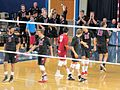 Stanford Cardinal men's volleyball team (34420416505).jpg
