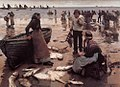 Stanhope Forbes A Fish Sale on a Cornish Beach.jpg