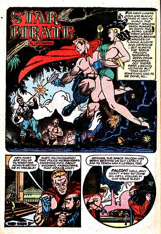 Murphy Anderson - Image: Star Pirate Planet Comics 50