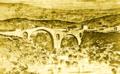 Stari Vezirov most na Morači kraj Podgorice krajem XVIII vijeka 3b.png