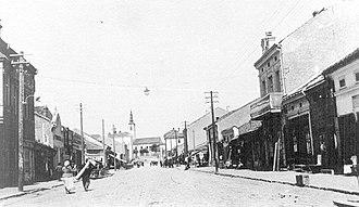 Aleksinac -  19th century
