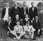 StateLibQld 2 147283 Members of the Brisbane Rowing Club Maiden Eight winners, Brisbane, 1924.jpg