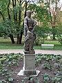 Statue of Herakles in Łazienki Park, Warsaw, Poland 11.jpg
