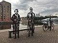 Statues in Greenland Dock (48768318737).jpg