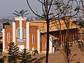 Ste.-Famille Church - Genocide Site - Viewed through Trees - Kigali - Rwanda.jpg