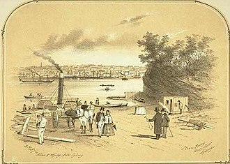 PS Herald - A Ferry At North Sydney in 1856 that may be or is similar to the Herald