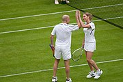 Steffi Graf and Andre Agassi (Wimbledon 2009) 2