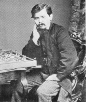 Wilhelm Steinitz - Steinitz in 1866