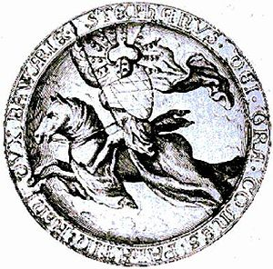 Stephen II, Duke of Bavaria - Seal of Stephen II