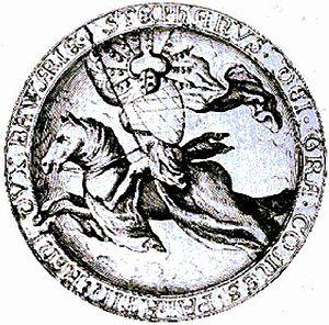 Stephen II, Duke of Bavaria - Seal of Stephen II