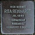 Stolperstein Göppingen-St. Gotthardt, Rita Reinhardt.jpg
