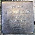 Stolperstein Martin-Luther-Str 127 (Schöb) Otto Schindler.jpg